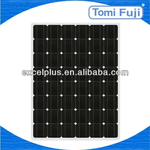 2013 high efficiency 190W mono photovoltaic solar panel in energy cheap price