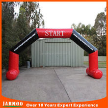 Top level top sell cheap custom printed inflatable arch for advertising