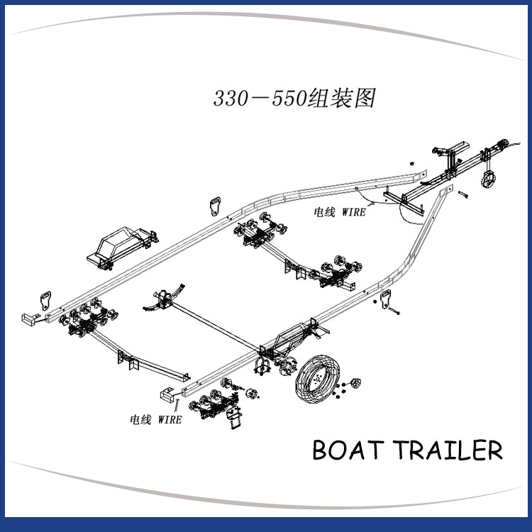 Gather New Technology Made In China Wholesale Rc Boat Trailer