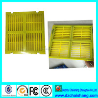 coal and coke Polyurethane cross tension mats screens gravel sieving panel