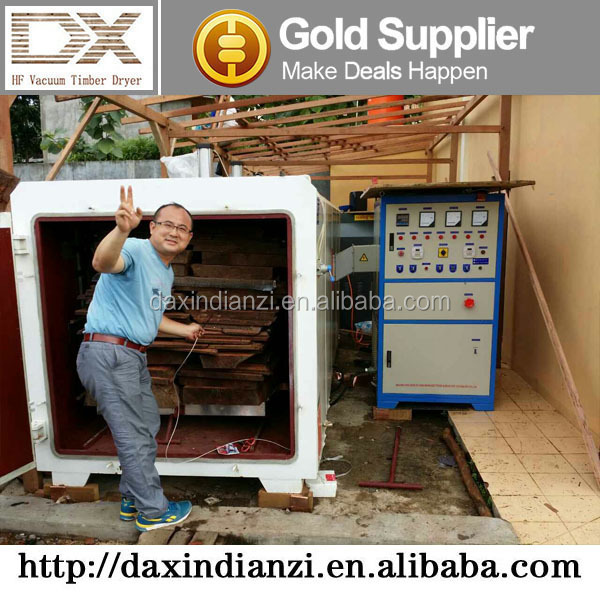 GZ-8.0III-DX vacuum kiln drying lumber / wood drying room / timber drying kiln machine