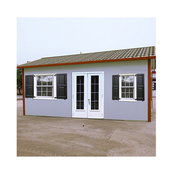 100m2 modern prefab steel frame house plans
