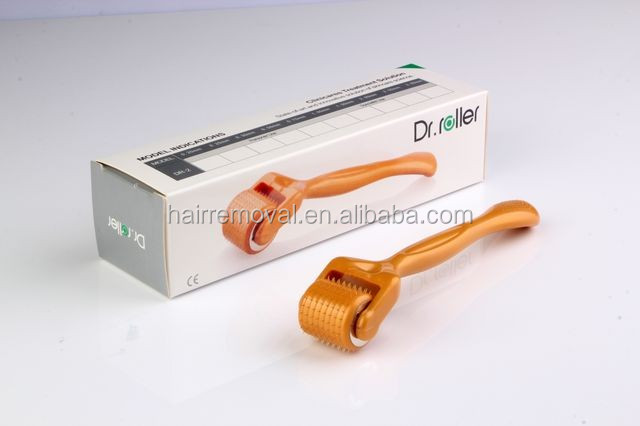 factory price ! disk needle therapy face needle roller massager 192 Needles dr. roller