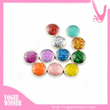 Hot sale 6mm zinc alloy custom floating locket charms for Jewelry, locket charm