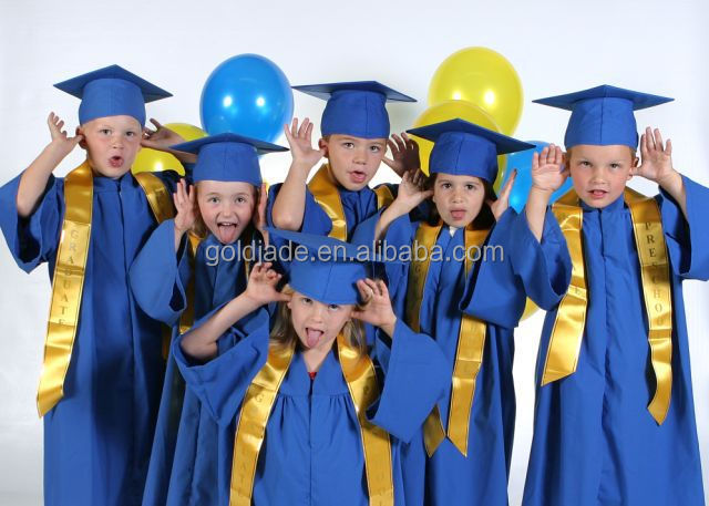 custom kindergarten/primary school kids graduation gown and caps children graduation gown  sc 1 st  Cheaper Discounts For Items & List Manufacturers of Kid Graduation Gown Buy Kid Graduation Gown ...