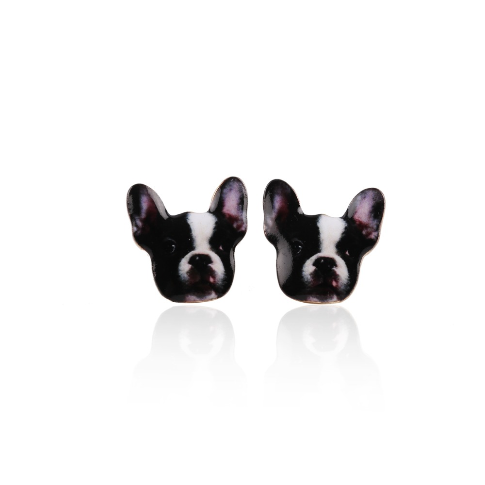 2016 Gold Chihuahua Earrings Dog Studs Chihuahua Jewelry Love my Pet Jewelry Animal Party Earrings