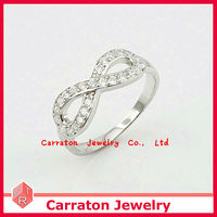 2013 Hot Sale Products Sterling Silver Jewellery Infinity Symbol Ring