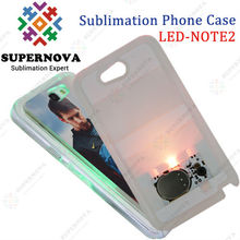 Hot Sublimation LED Cell Phone Case for Samsung Galaxy NOTE2 (N7100)