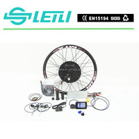 high quality 1500W electric bike kit for rear drive motorized bicycle with the TFT display