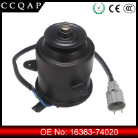 Wholesale prices 16363-74020 12v dc car engine denso radiator cooling fan motor for toyota
