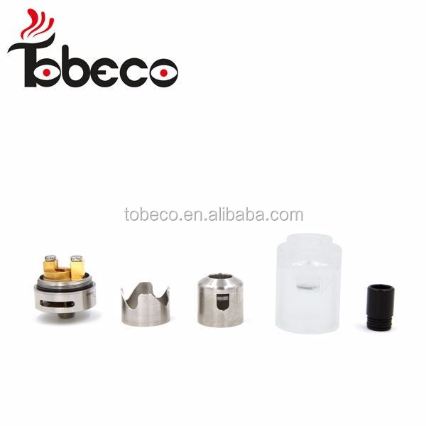 Alibaba express new arrive hurricane junior rebuildable atomizer hurricane junior high quality factory price Tobeco hurricane