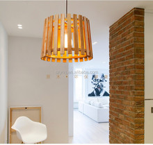 Modern Wooden Pendant Lighting Chandelier Hanging Lamp Manufacturer