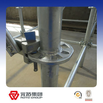 Q235 hdg ring lock scaffolding system in China