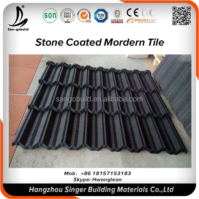 Cheap Metal sheet New roofing materials stone coated roof tiles asphalt types of roof tiles