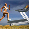 Professional Treadmill With TV Fitness Equipment