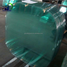 clear tempered glass table/clear tempered glass shower wall panels/clear tempered glass