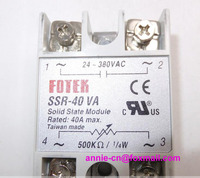 New and original SSR-40VA FOTEK SOLID STATE MODULE, SSR SOLID STATE RELAY 40A