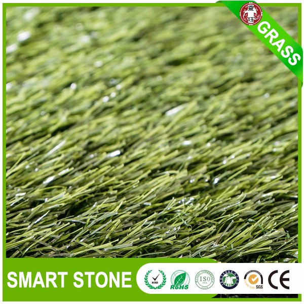 No infill light green football artificial grass long life soccer grass