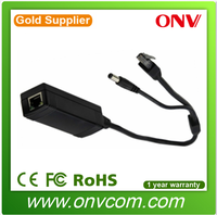 Made in china 802.3af PoE splitter 5V for CCTV IP cameras