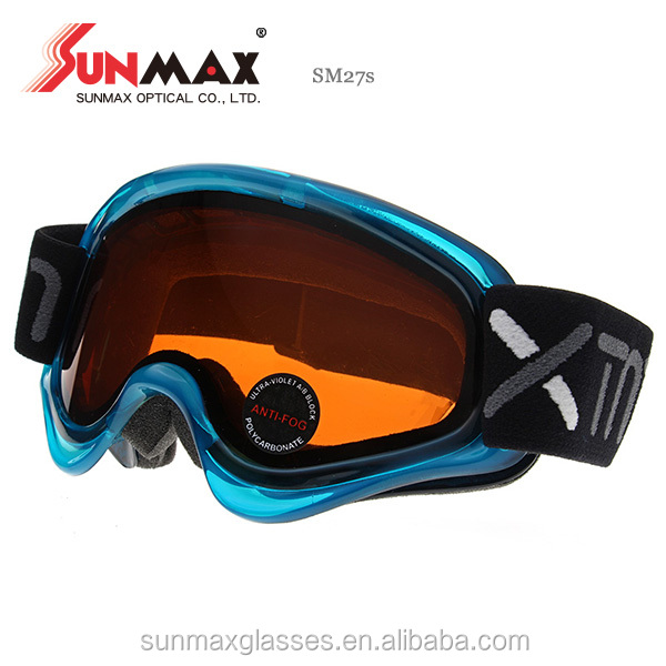 Hot Selling Factory Price Sports Eyewears Unique Children Ski Goggles Made in Taiwan