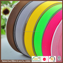 Factory sale fashion colorful 75mm 3 inch grosgrain ribbon