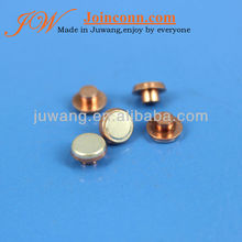 electrical contact,bimetal contact rivet,switch silver contact