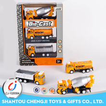 Wholesale cheap children small metal truck model diecast toy car