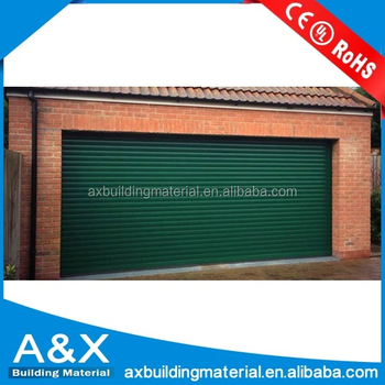 Green Color Roller Shutter