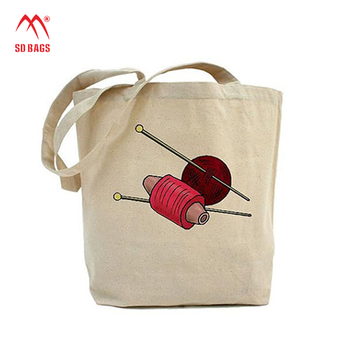 newest fashion Personalized Natural cotton drawstring bag