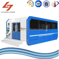 metal laser cutting machine have AB exchange table fiber