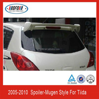 REAR WING SPOILER FOR ABS TIIDA MUGEN STYLE 2005-2010