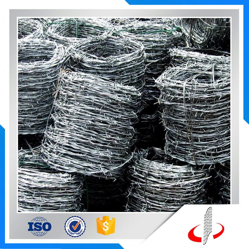 Best Price Double Strand Galvanized Steel Barbed Iron Wire Mesh