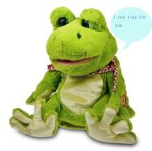 frog singing plush doll for kids birthdays present