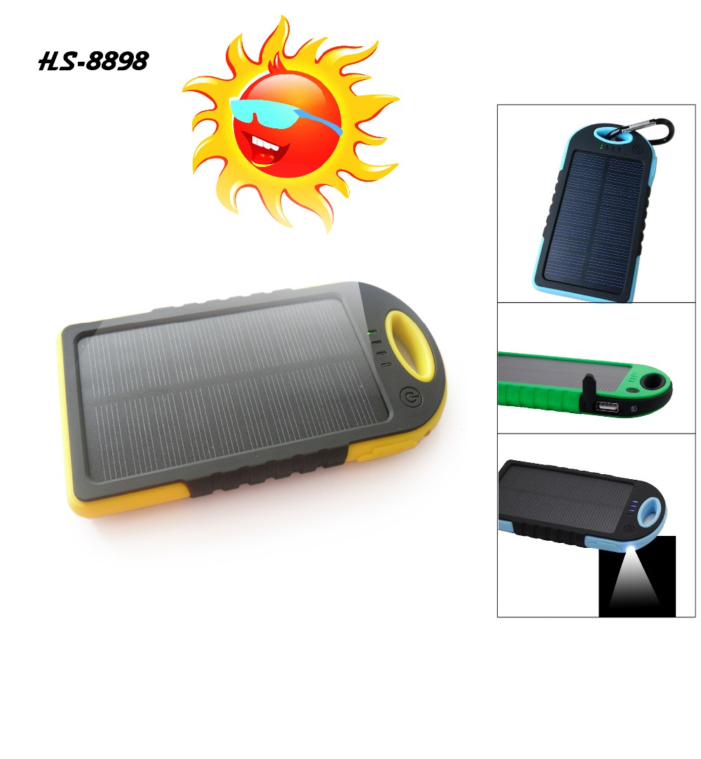 credit card design New Pattern oem portable solar charger power bank