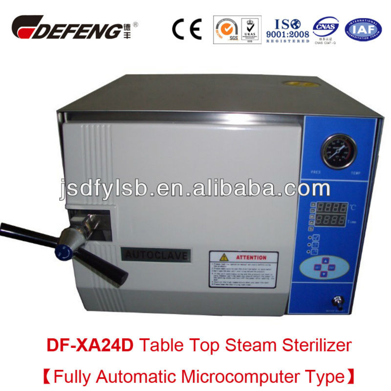 CE qualified DF-XA24D Sterilization Of Glass Syringe Injection