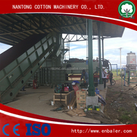 Automatic Plastic Bottle Baling Press Machine