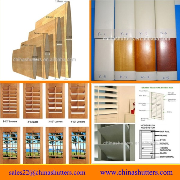Custom made shutter kit louver plantation shutter buy shutter plantation shutter louver - Plantation shutters kits ...