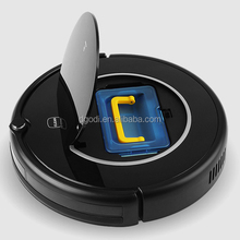 LCD touch button automatic smart robot vacuum cleaner,