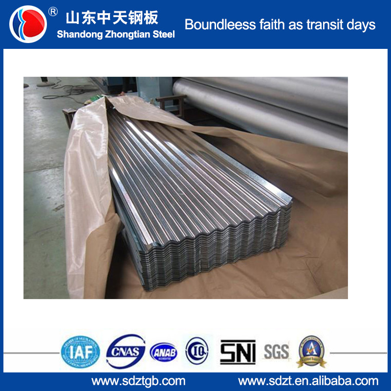 corrugated Aluzinc roofing sheet