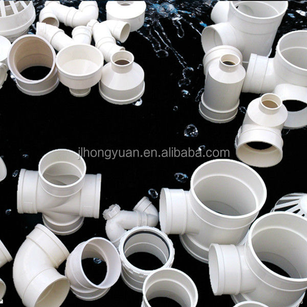 Through BV/ISO 9001 pvc pipe and fittings, pvc pipe water drainage