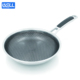 Non-stick technology stainless fry pan of cookware sets kitchen