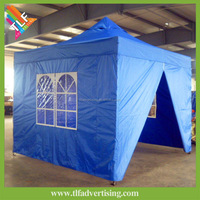 All weather canopy gazebo with solid roof