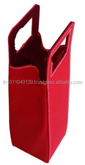 Genuine Leather Wine Bottle carrier