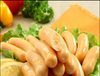 Vege corn sausage vegetarian mock meat soy bean protein products