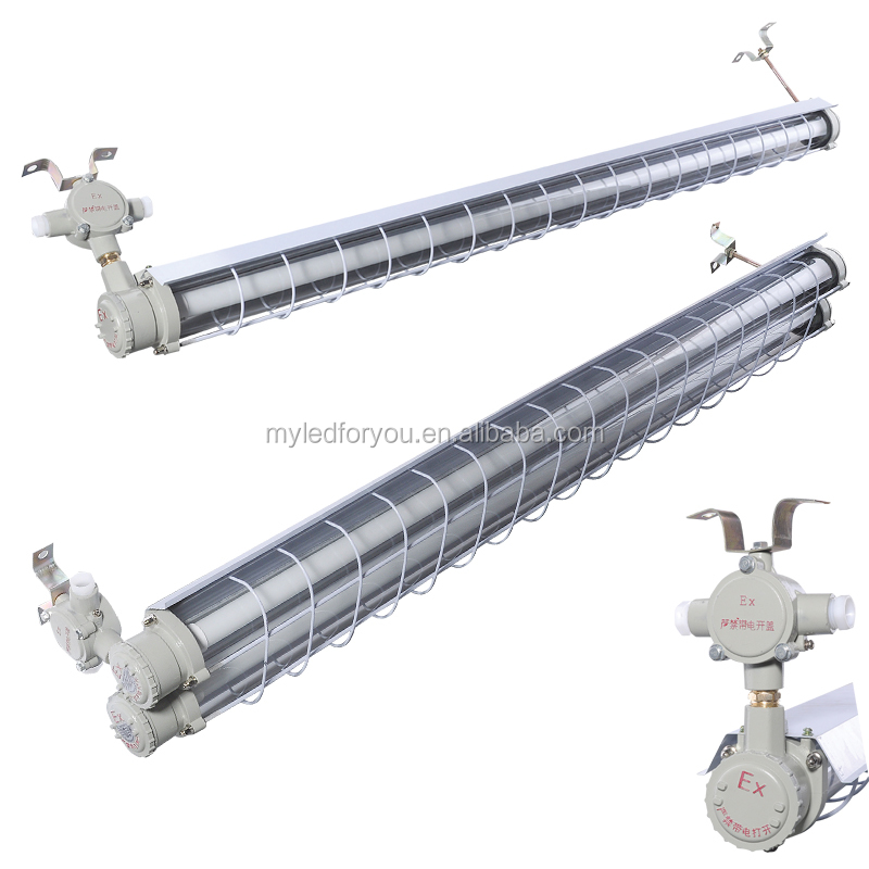 CNEX approved LED explosion proof fluorescent light for hazardous area
