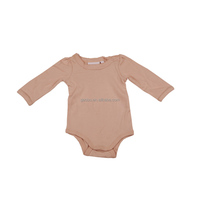 Baby Girl Clothes Jumpsuit Long Sleeve Pink Rompers
