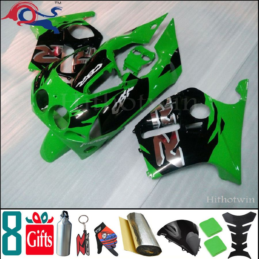 8Gifts+Injection molded Fairing Set for Honda 98-99 CBR250RR MC19 1988 1989 ABS Plastic Kit