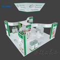 Aluminium tension fabric trade show exhibition booth design