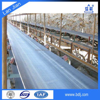 ISO 14001 certified companies natural rubber cotton canvas rubber conveyor belt price