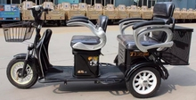 48V 500W electric aged person tricycle / battery powered small recreation tricycle / Zipstar Kupao-C